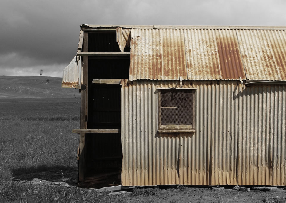 This is a photo of a shed